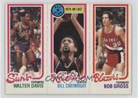 Walter Davis, Bill Cartwright, Bob Gross