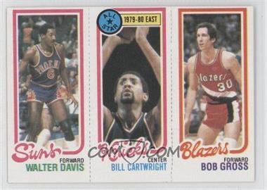 1980-81 Topps - [Base] #WDBCBG - Walter Davis, Bill Cartwright, Bob Gross