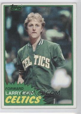1981-82 Topps - [Base] #4 - Larry Bird