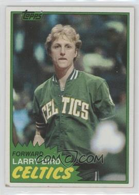 1981-82 Topps - [Base] #4 - Larry Bird