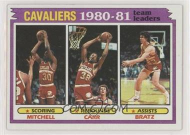 1981-82 Topps - [Base] #47 - Mike Mitchell, Kenny Carr, Mike Bratz