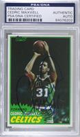 Cedric Maxwell [PSA/DNA Certified Encased]