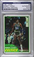 Robert Parish [PSA/DNA Certified Auto]