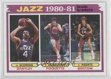 1981-82 Topps - [Base] #65 - Utah Jazz Team, Adrian Dantley, Ben Poquette, Allan Bristow