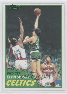 1981-82 Topps - [Base] #75E - Kevin McHale