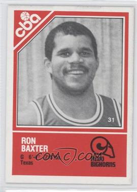 1982-83 TCMA CBA - [Base] #31 - Ron Baker