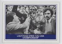 Lightning Wins 1982 CBA Championship