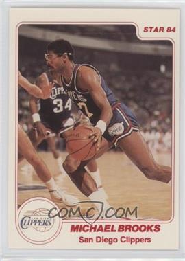 1983-84 Star - [Base] #122 - Michael Brooks