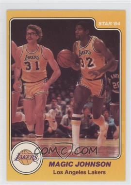 1983-84 Star - [Base] #13 - Magic Johnson