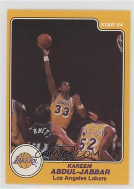 1983-84 Star - [Base] #14 - Kareem Abdul-Jabbar