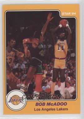 1983-84 Star - [Base] #18 - Bob McAdoo