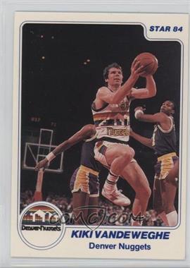 1983-84 Star - [Base] #181 - Kiki Vandeweghe