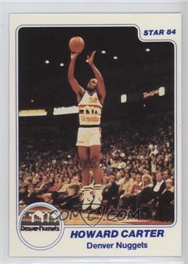 1983-84 Star - [Base] #183 - Howard Carter