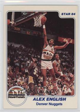 1983-84 Star - [Base] #186 - Alex English
