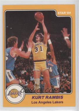 1983-84 Star - [Base] #21 - Kurt Rambis