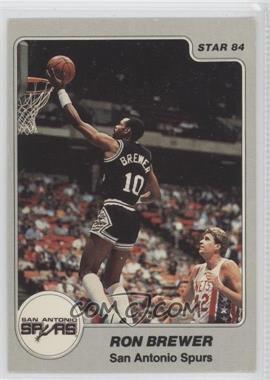 1983-84 Star - [Base] #243 - Ron Brewer