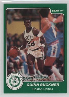 1983-84 Star - [Base] #28 - Quinn Buckner