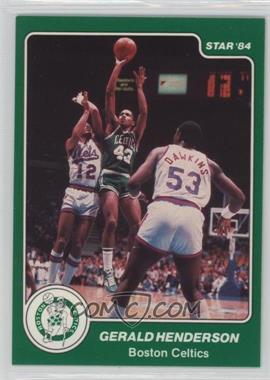 1983-84 Star - [Base] #31 - Gerald Henderson