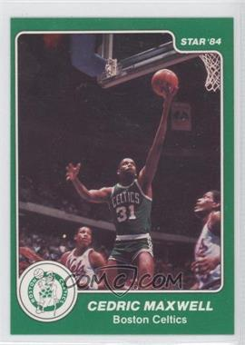 1983-84 Star - [Base] #33 - Cedric Maxwell