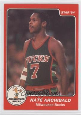 1983-84 Star - [Base] #39 - Nate Archibald