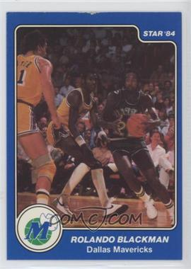 1983-84 Star - [Base] #50 - Rolando Blackman