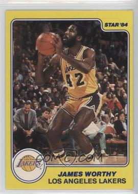 1983-84 Star All-Rookie Team - [Base] #10 - James Worthy