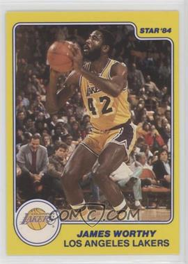 1983-84 Star All-Rookie Team - [Base] #10 - James Worthy