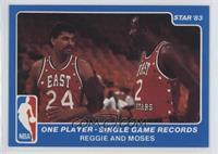 Reggie Theus, Moses Malone