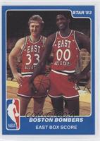 Boston Bombers (East Box Score)