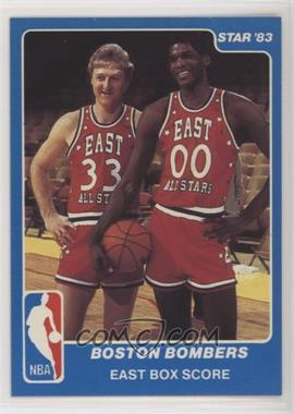 1983 Star NBA All-Star Game - [Base] #29 - Boston Bombers (East Box Score)