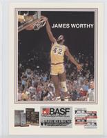 James Worthy (Dunking)