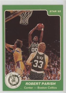 1984-85 Star - [Base] #10 - Robert Parish
