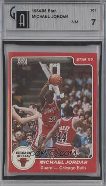 1984-85 Star - [Base] #101 - Michael Jordan [GAI 7]