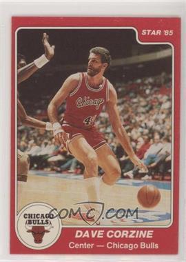 1984-85 Star - [Base] #102 - Dave Corzine