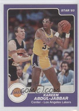 1984-85 Star - [Base] #173 - Kareem Abdul-Jabbar