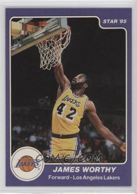 1984-85 Star - [Base] #184 - James Worthy