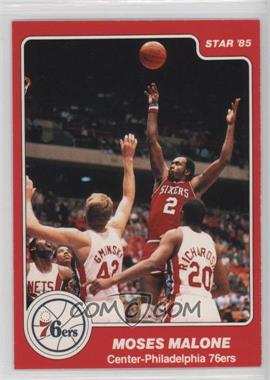 1984-85 Star - [Base] #201 - Moses Malone