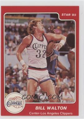 1984-85 Star - [Base] #22 - Bill Walton