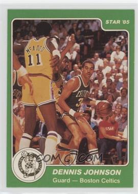 1984-85 Star - [Base] #6 - Dennis Johnson