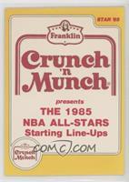 1985 All-Star Starting Line-Ups Checklist