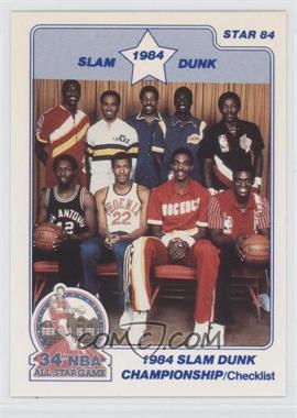 1984 Star - Slam Dunk Championship #1 - Michael Cooper, Clyde Drexler, Julius Erving, Darrell Griffith, Edgar Jones, Larry Nance, Ralph Sampson, Dominique Wilkins, Orlando Woolridge