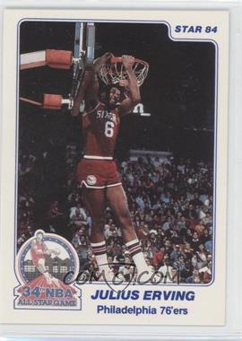 1984 Star - Slam Dunk Championship #4 - Julius Erving