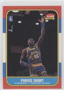 1986-87 Fleer - [Base] #100 - Purvis Short