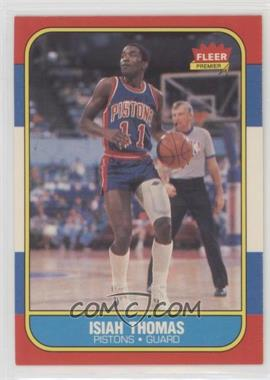 1986-87 Fleer - [Base] #109 - Isiah Thomas