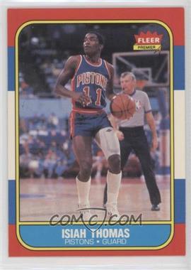 1986-87 Fleer - [Base] #109 - Isiah Thomas