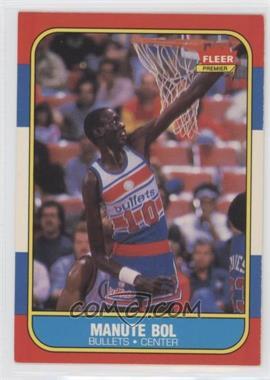 1986-87 Fleer - [Base] #12 - Manute Bol