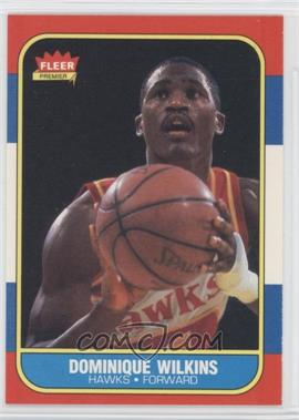 1986-87 Fleer - [Base] #121 - Dominique Wilkins