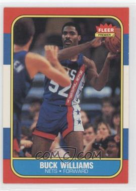 1986-87 Fleer - [Base] #123 - Buck Williams
