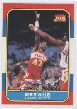 1986-87 Fleer - [Base] #126 - Kevin Willis