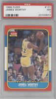 James Worthy [PSA 7 NM]